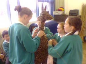 School Art Project - Animal Sculpture